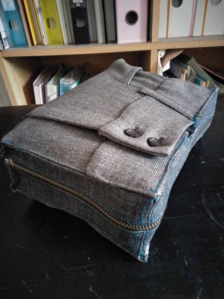 Up-cycled Sewing Kit & Tools Storage Case