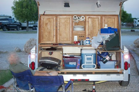 Teardrop Trailer - Boxes Within a Box