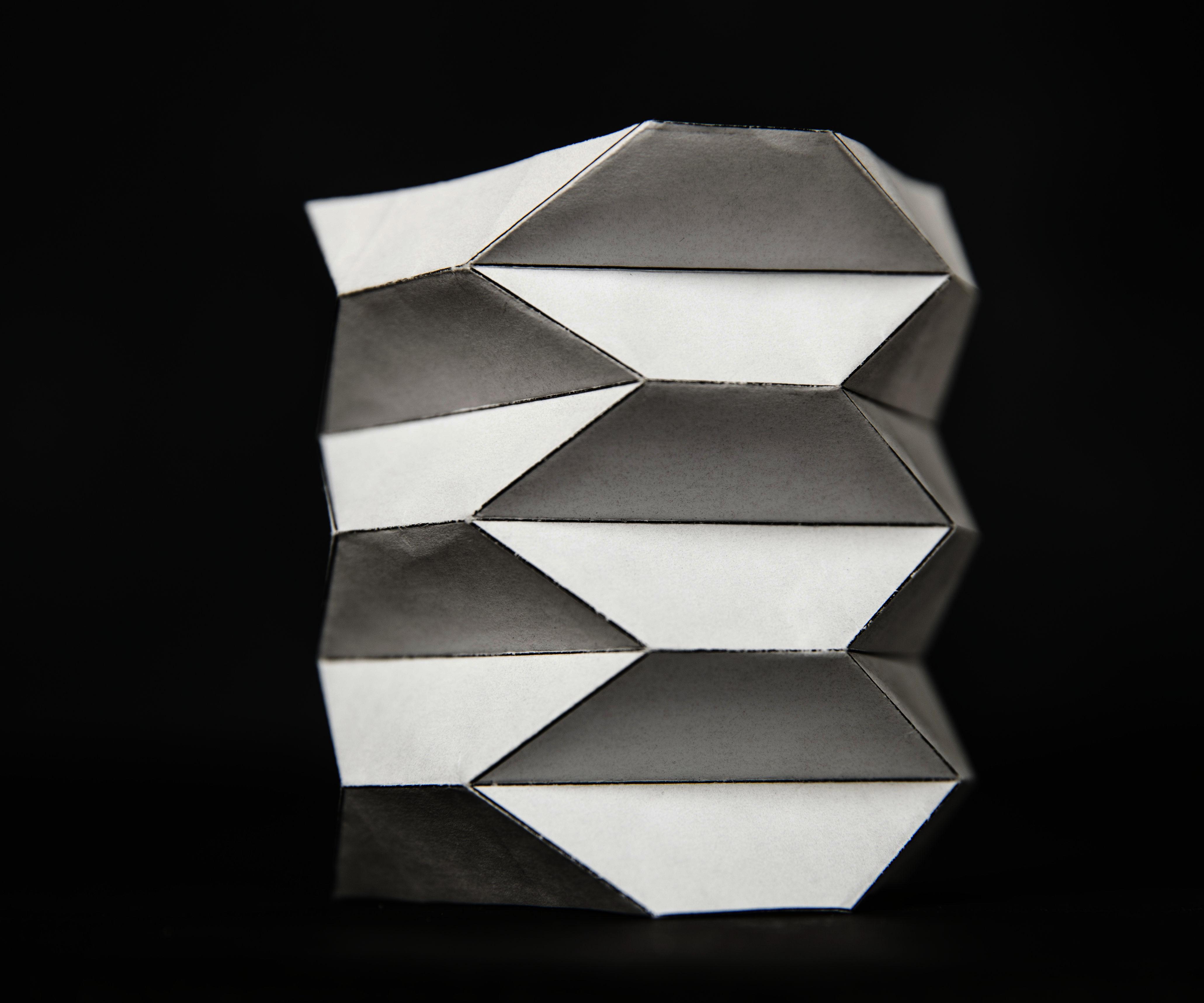 Origami Ballistic Barrier