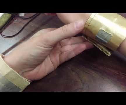 Light Up Wrist Bracers
