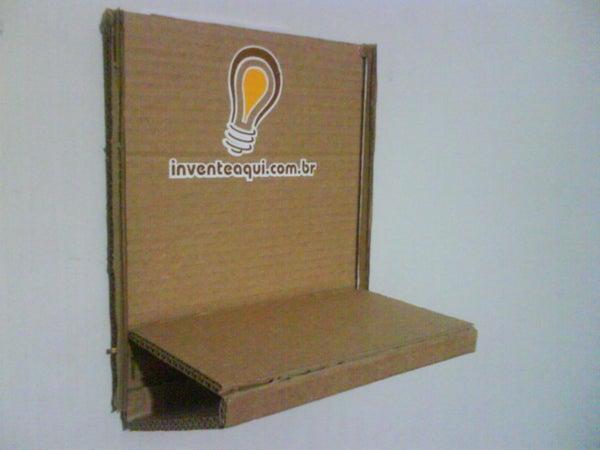 Cardboard Table - Shelf - Picture Frames
