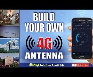 Build Your Own BiQuad 4G Antenna With Speed Test