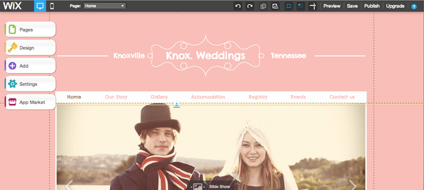 How to Create a Wedding Planning Website Using Wix.com