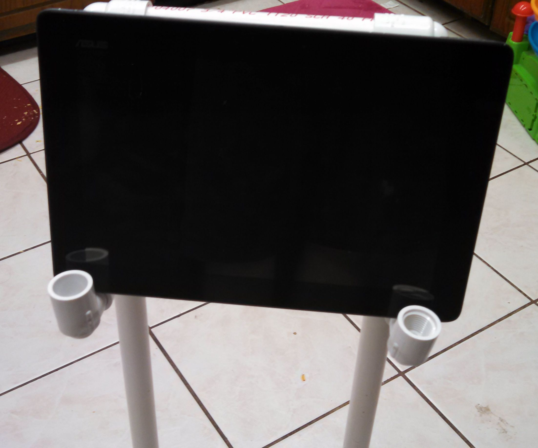 PVC Backseat Tablet Stand