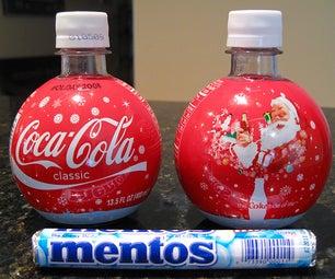 Mentos+Cola Spray Bottle.