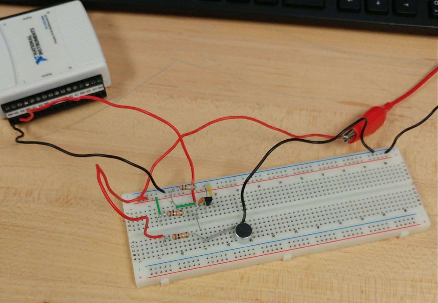 Next, the Analog Circuit