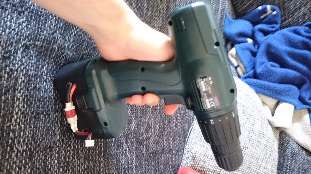 Reanimate Old Battery Drill