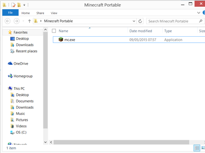Copy the Minecraft Launcher to Your USB