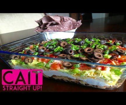 7 Layer Bean Dip - No Meat