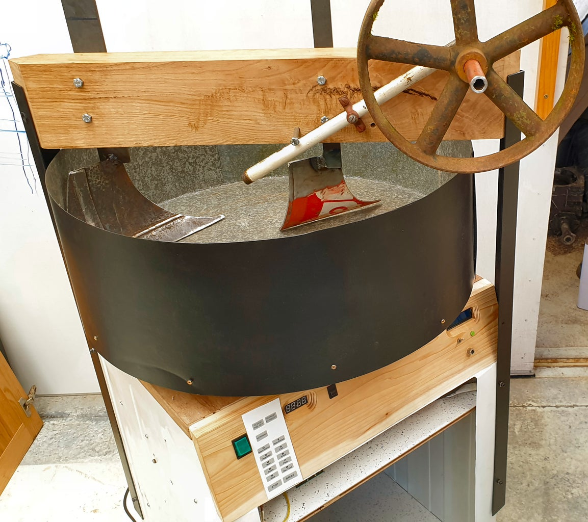 Green Sand Muller #7 - Fitting Ploughs
