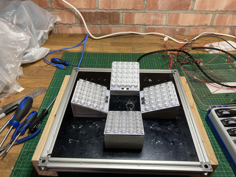 Improving the Light Homogeneity Within the Box