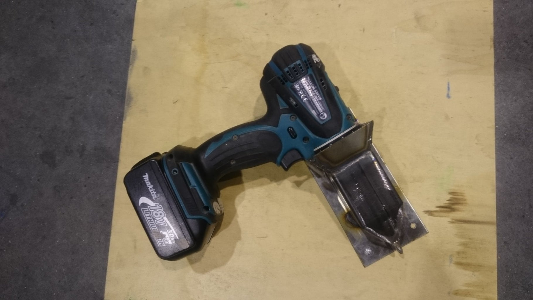 Where to Put the Cordless Drills..hmm..