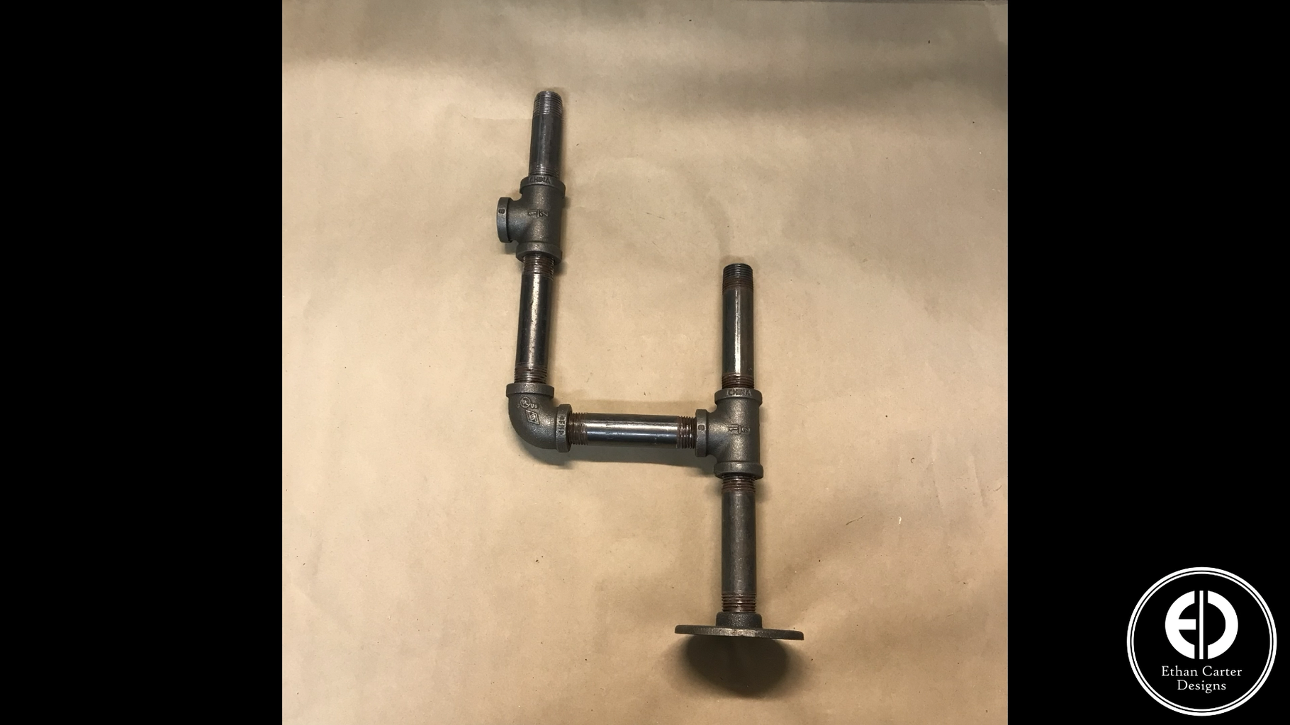 Adding Feet and Figuring Out the Pipe Configuration