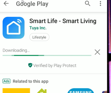 Install the Smart Life Application and Get Registered
