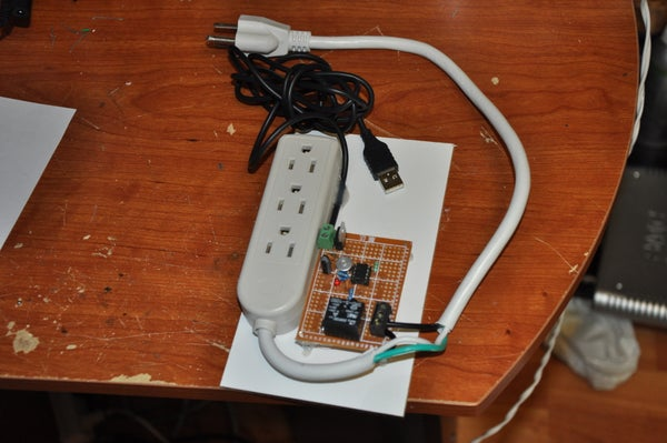 USB Powered Clapper Switch - Extremely Little HW Required!