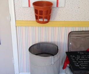 Washing Basketball Hoop Makes Cleaning Actually Fun!