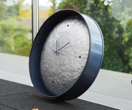 Massive Steel Barrel Clock
