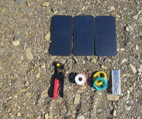 DIY Solar Panel QC 3.0 15w