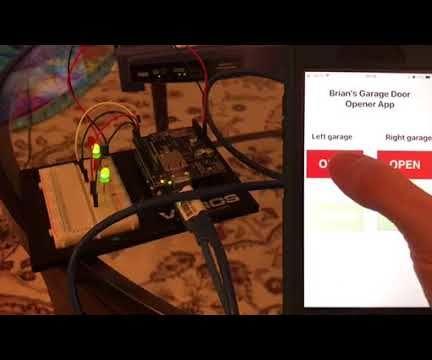 IPhone and Arduino Garage Door Opener