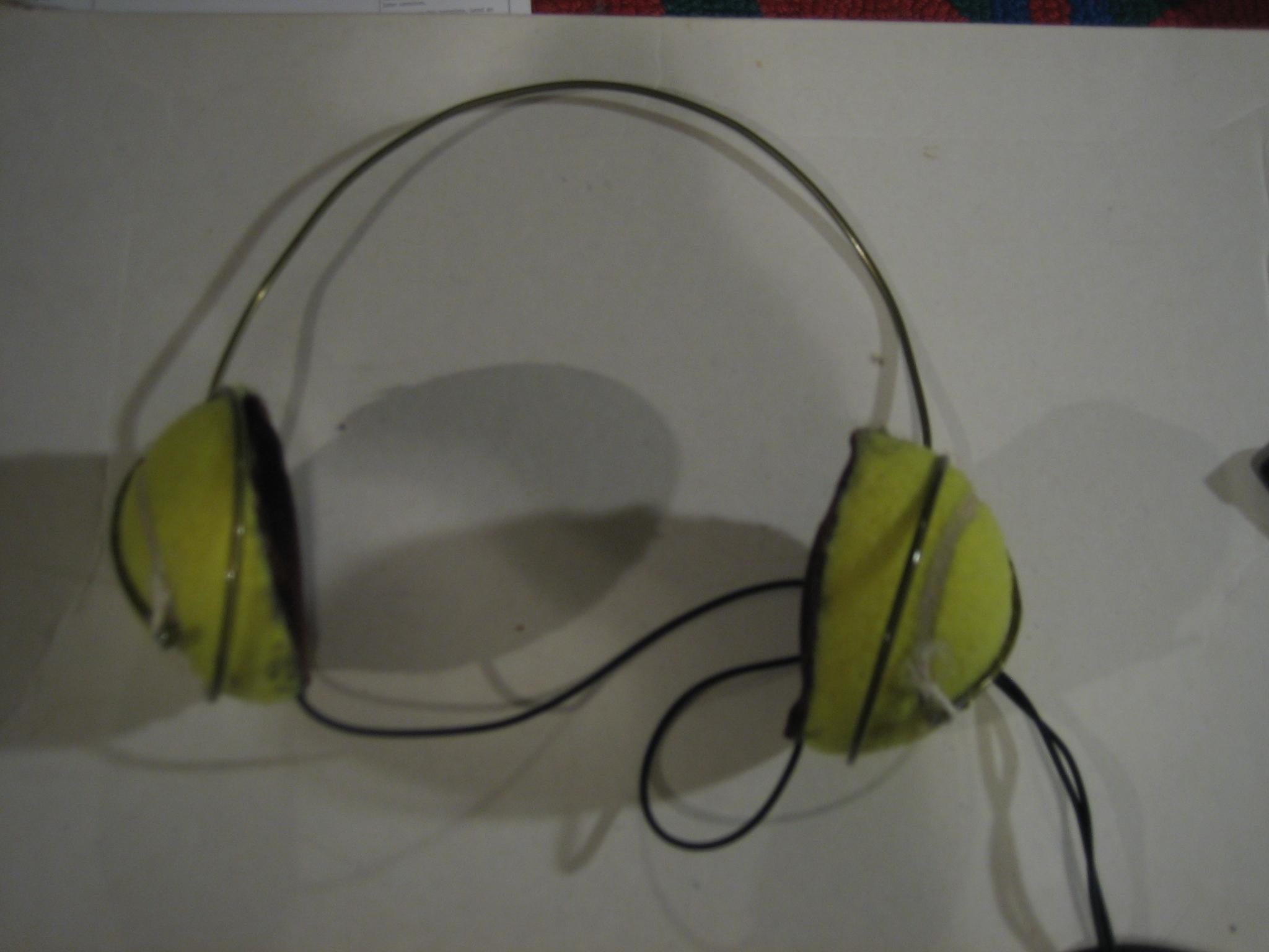 Tennis Ball Headphones