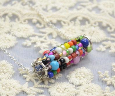 Fun Idea on Making a Seed Bead Waterwheel Necklace