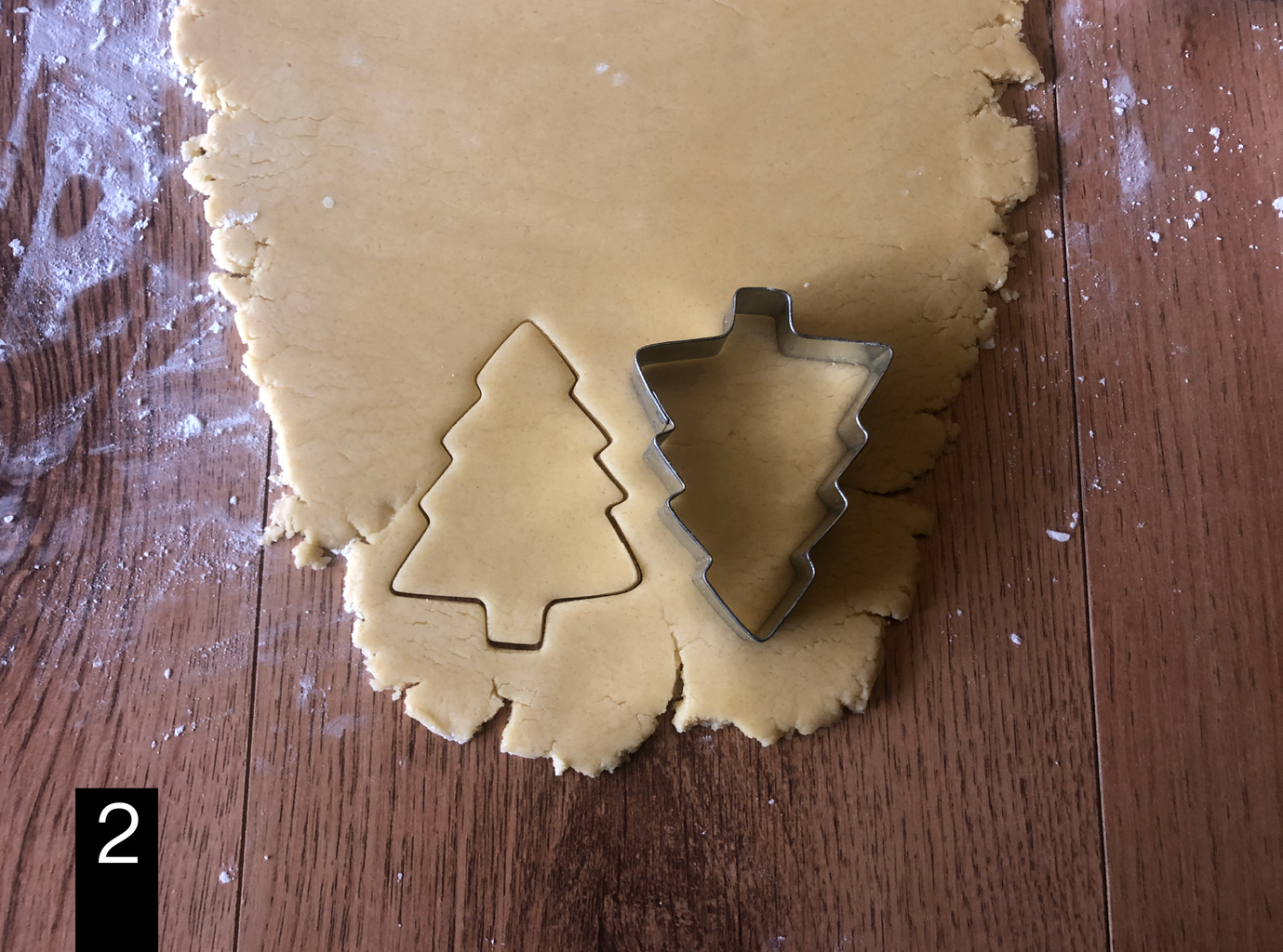 Shaping the Cookies: