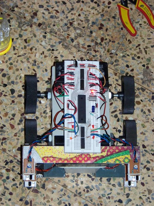 Cheap 4WD Object Avoiding Robot Using Four IR Proximity Sensors...