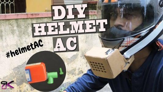 DIY Helmet Cooler