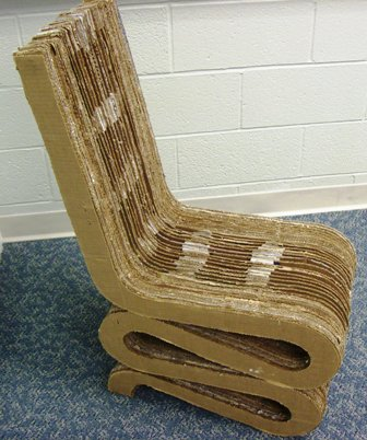 World's Best Cardboard Chair