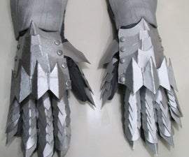 How to Make the Witch King of Angmar's Gauntlets