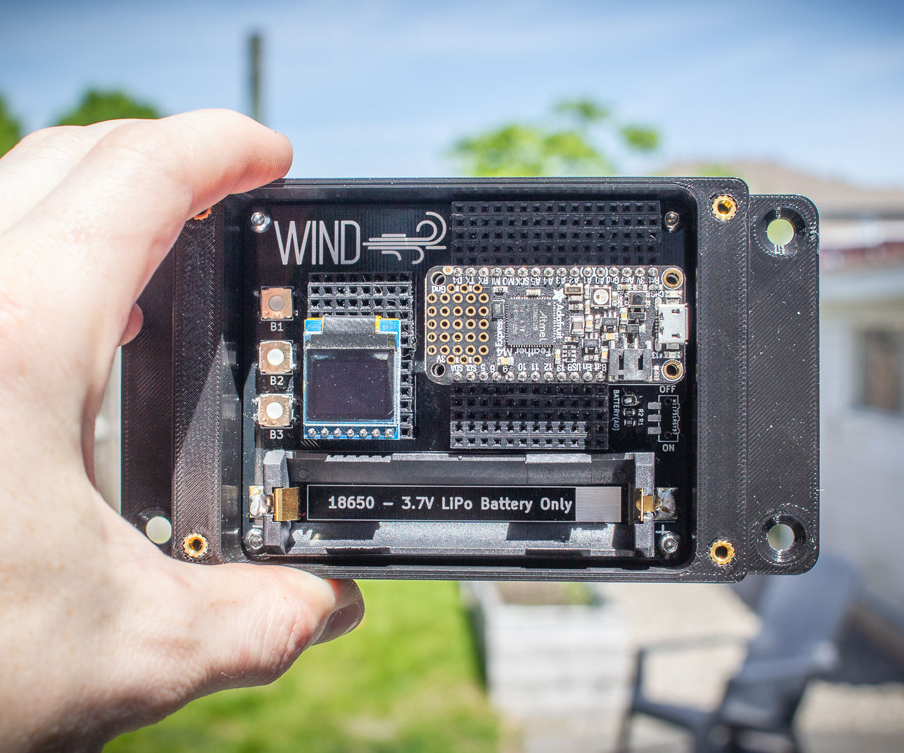WIND - Project Accelerator for the Adafruit Feather