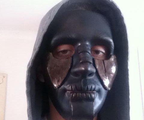 Make custom Halloween masks