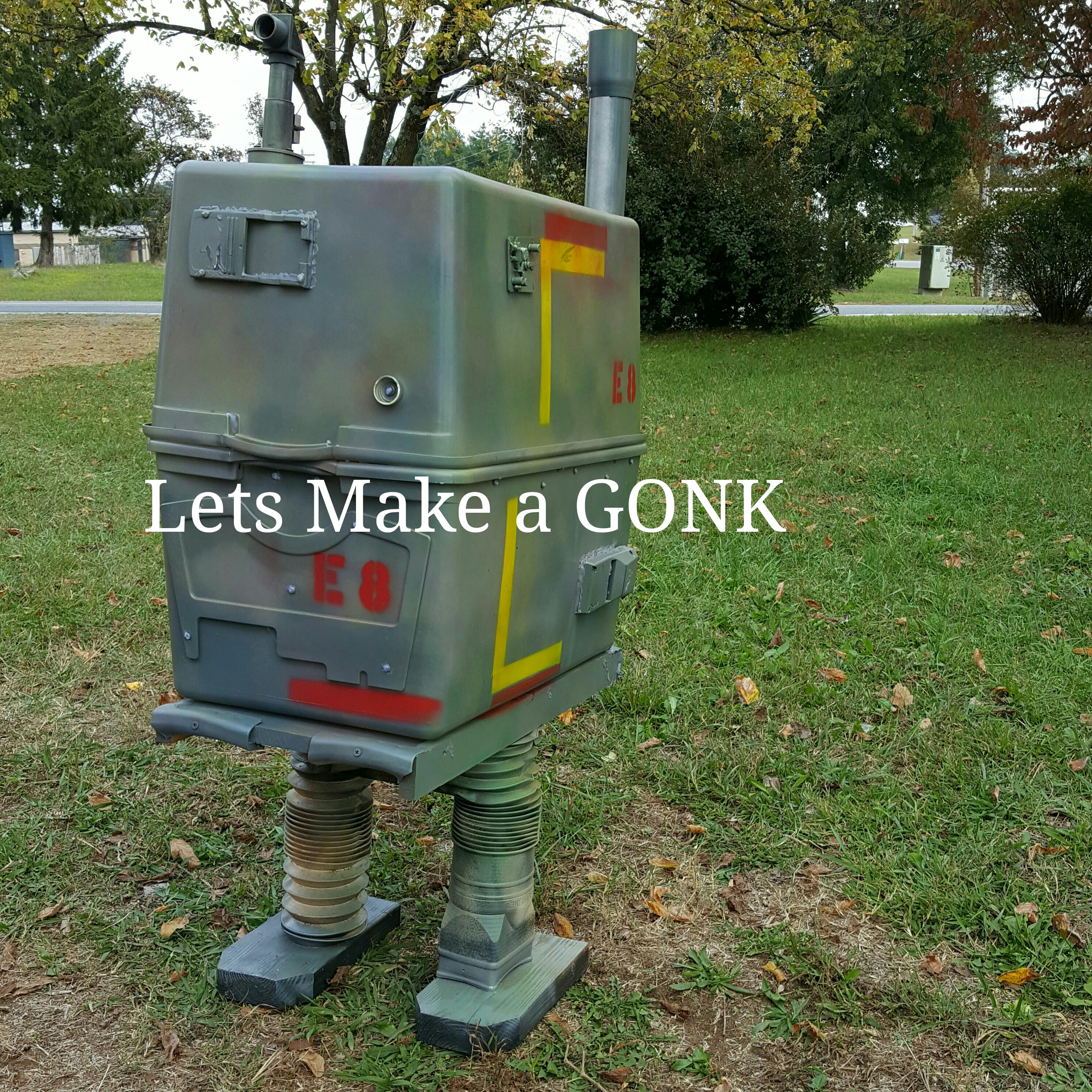 GONK Droid From Junk