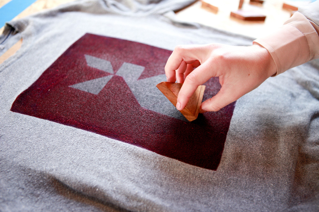 DIY Tangram Sweater
