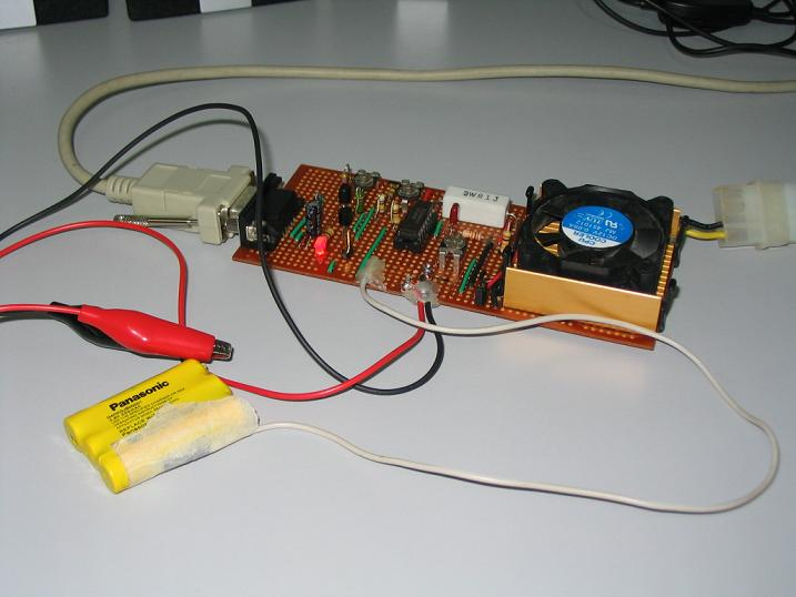 NiCd - NiMH PC Based Smart Charger - Discharger