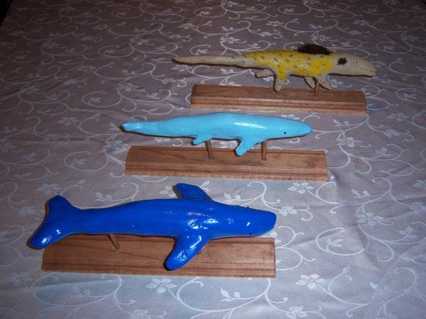 "Plaster Models for School Project (""Plaster- Mache"")"