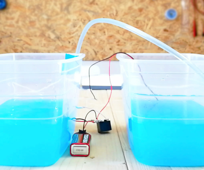 DIY Water Pump or Valve Auto ON-OFF | Make Water Level Controller at Home