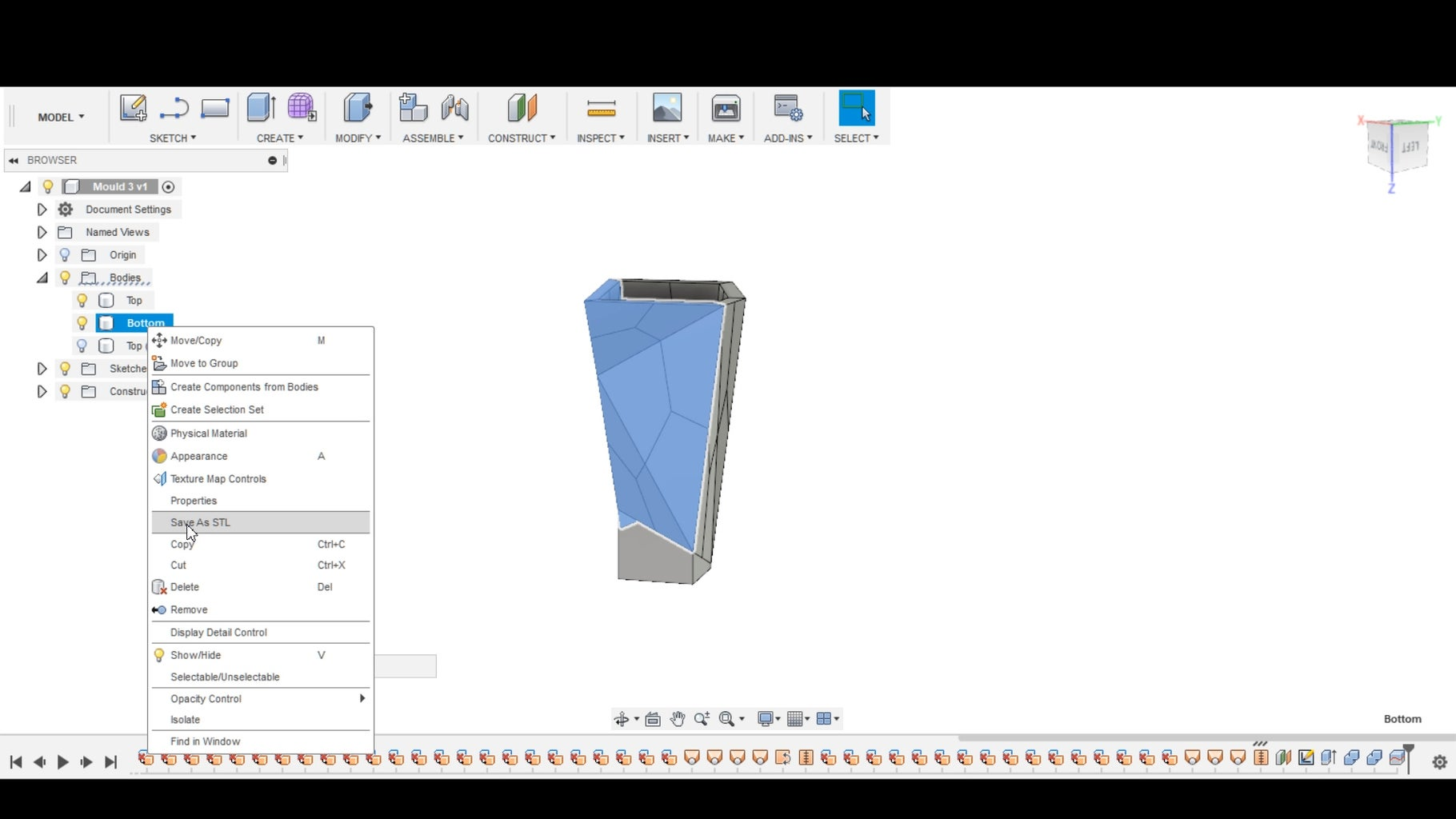 DESIGNING THE PRODUCT AND MOULD