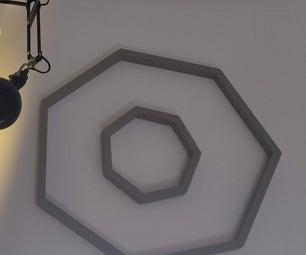 Abstract Wood Art