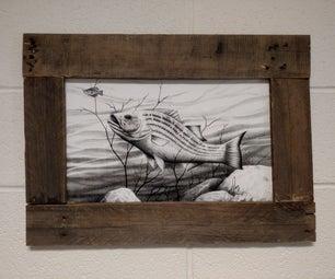 Wooden Pallet Frame