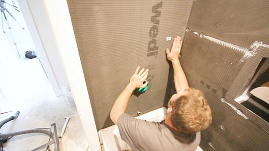 Sealing IBox to Backer Boards
