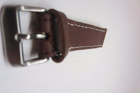 Making the Short Piece and Attaching the Buckle
