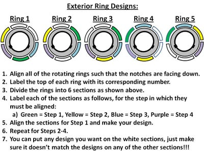 5 Step Solution:  Making Notches on Rotating Rings