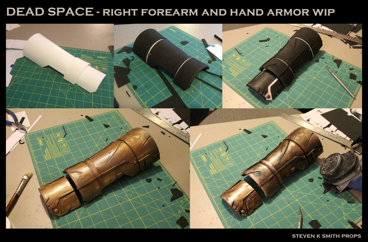 Right Arm and Chest Armor