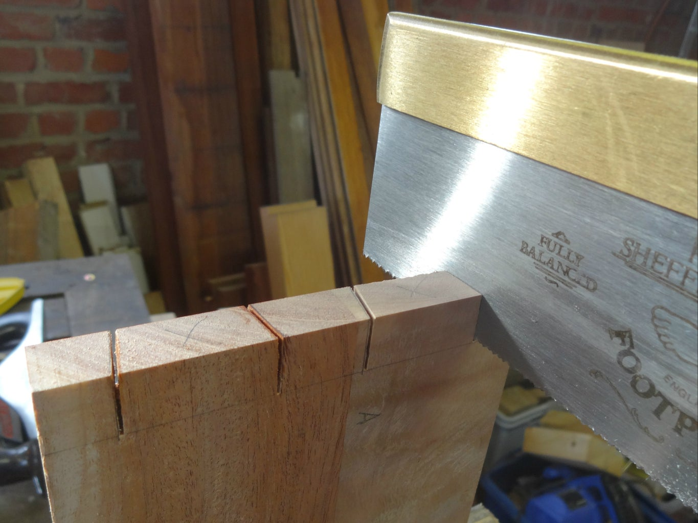 Joining the Sides With Dovetails