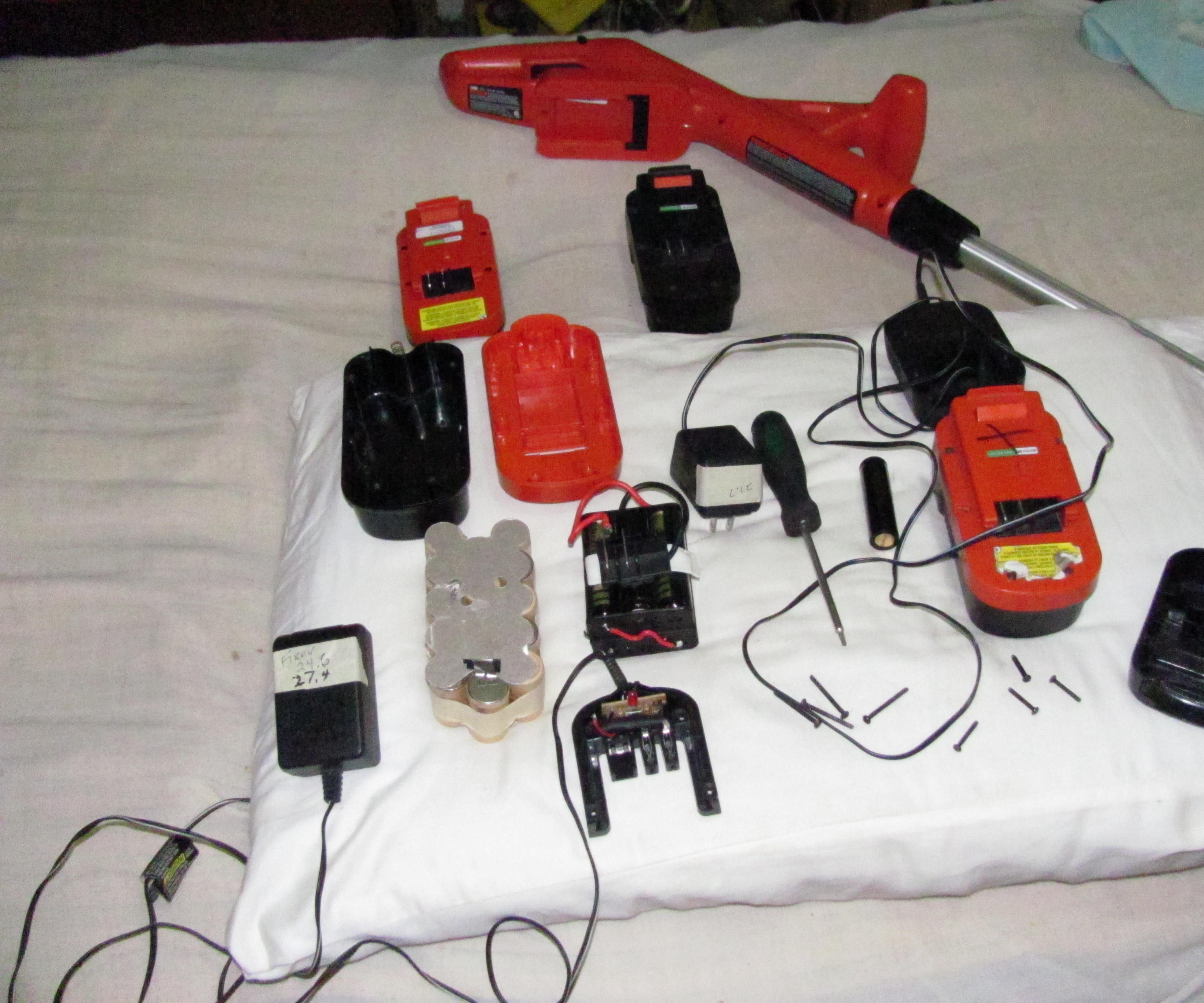 Lithium upgrade to 18v Black and Decker Single Source battery pack