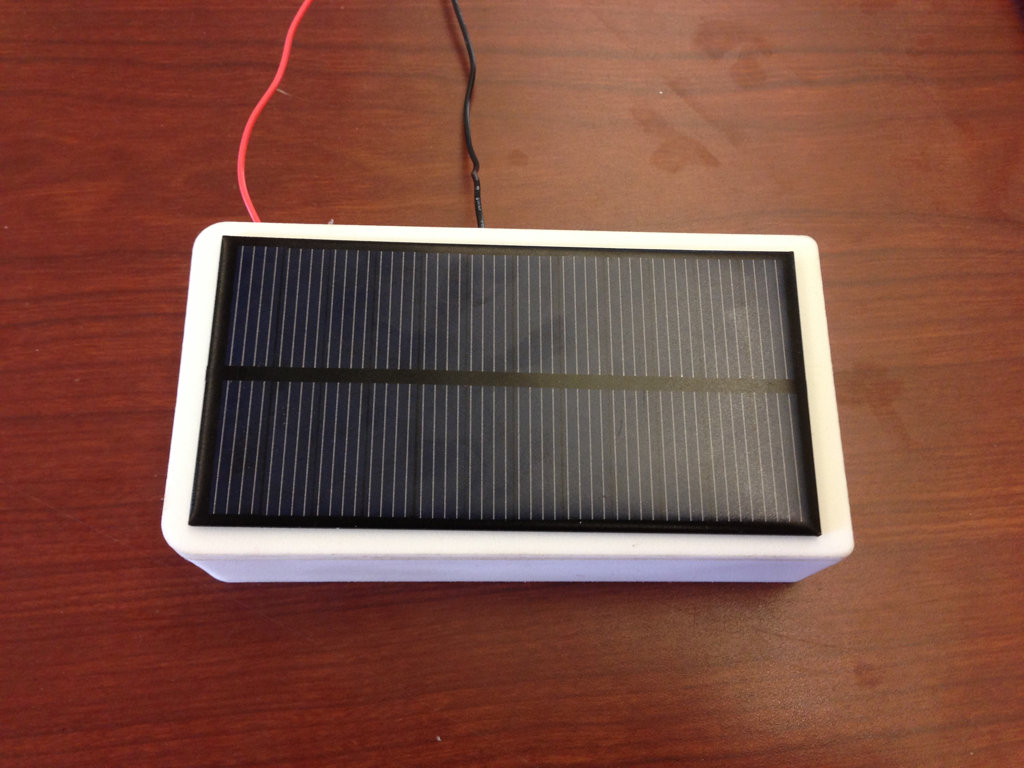 DIY iPhone 5s Solar Charger with CAD