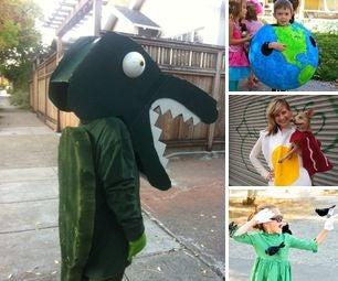 Homemade Halloween Costumes