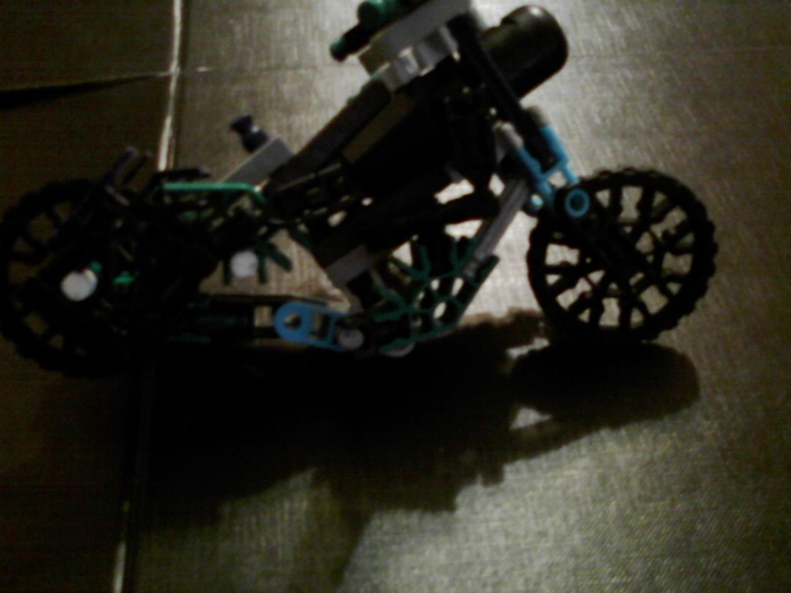 knex man motorcycle transformer