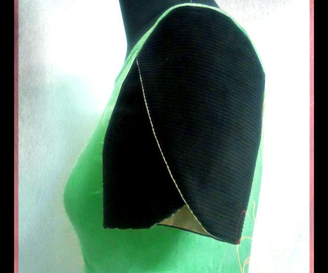 How to Make a Customized Petal sleeve-